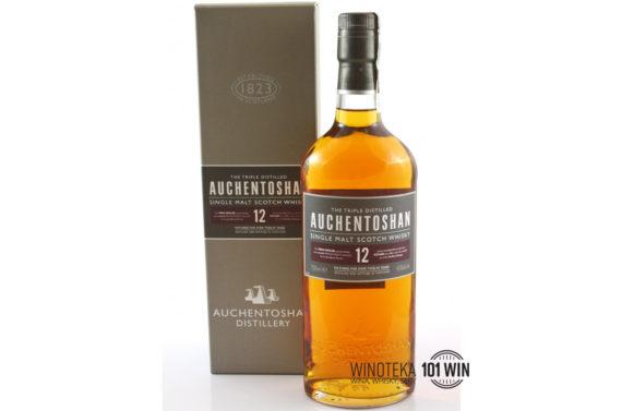 Whisky Auchentoshan 12YO 40% 0.7l - Sklep z whisky Szczecin