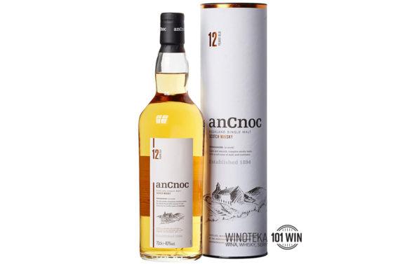 Whisky AnCnoc 12YO 40% 0.7l - Sklep whisky i wina Szczecin