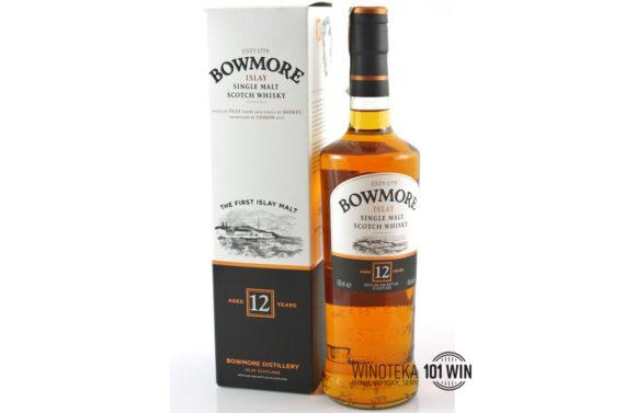 Whisky Bowmore 12YO 40% 0.7l - sklep whisky i wina Szczecin