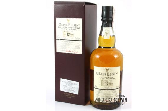 Whisky Glen Elgin 12YO 43% 0.7l - Sklep Whisky i wina Szczecin