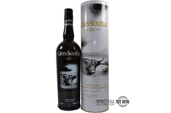 Whisky Glen Scotia 12YO 46% 0.7l - Sklep Whisky Szczecin