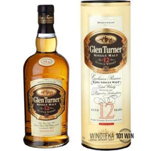 Whisky Glen Turner 12YO 40% 0.7l - Sklep Whisky Szczecin