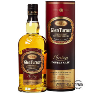 Whisky Glen Turner Heritage Reserve Double Cask 40% 0.7 - Sklep whisky Szczecin