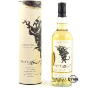 Whisky Peat's Beast 46% 0.7l - Sklep Whisky Szczecin