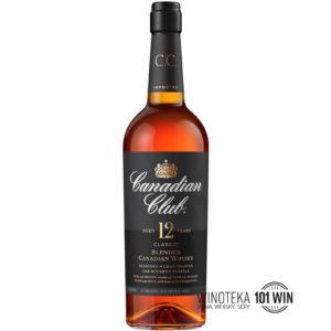Whisky Canadian Club 12YO 40% 0.7l - sklep z whisky w Szczecinie