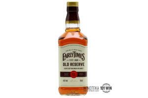 Early Times Old Reserve 40% 0,7l - Sklep Whisky - Whisky Szczecin