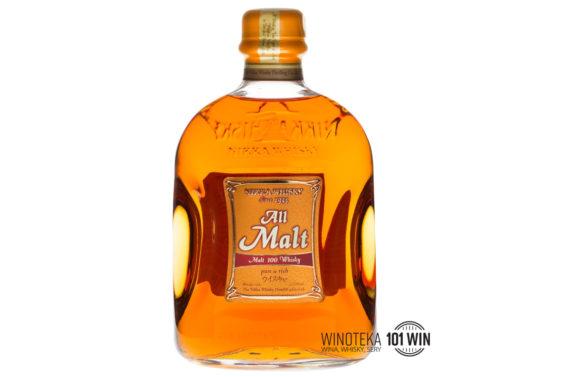 NIKKA ALL MALT 40% 0.7L - Sklep whisky Szczecin - whisky japońska