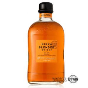 NIKKA BLENDED 40% 0.7L - Sklep Whisky Szczecin - whisky japońska