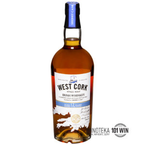 West Cork Irish Single Malt, 12YO Sherry Cask 43% 0,7l - Whisky Szczecin - alkohole Szczecin