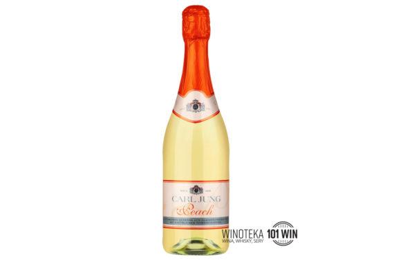 Wino bezalkoholowe Szczecin - Carl Jung Peach – białe półsłodkie musujące