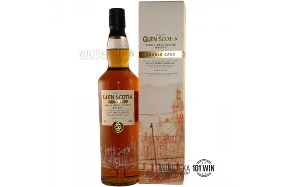 GLEN SCOTIA DOUBLE CASK SINGLE MALT 46% 0,7l - Sklep Whisky