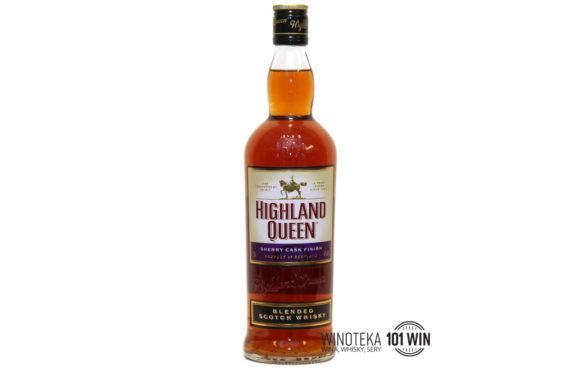 Highland Queen Sherry Finish 40% 0,7l - Sklep Whisky szczecin