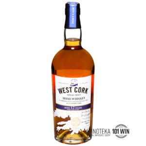 WEST CORK 12YO PORT CASK MALT 43% 0,7l - Sklep Whisky Szczecin