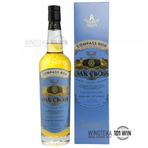 Compass Box Oak Cross Blended Malt 43% 0,7l - Sklep Whisky
