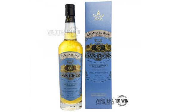 Compass Box Oak Cross Blended Malt 43% 0,7l - Sklep Whisky