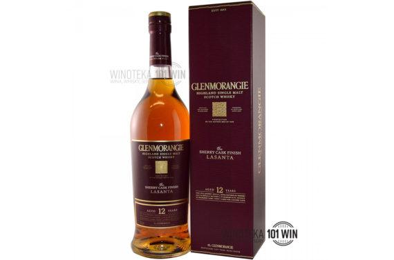 GLENMORANGIE LASANTA 12YO 43% 0,7l - Sklep Whisky Szczecin