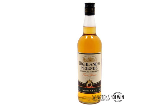 HIghland's Friends 3YO 40% - Sklep Whisky
