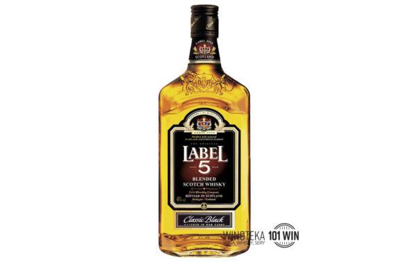 Label 5 Classic Black Blend 40% 0,7l - Sklep Whisky Szczecin