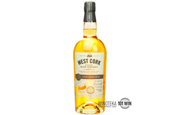 West Cork Cask Strength 62% 0.7l - Sklep Whisky Szczecin