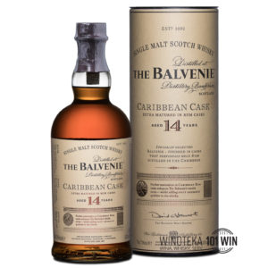 Balvenie 14-letni Caribbean Cask 43% 0.7l - Sklep Whisky