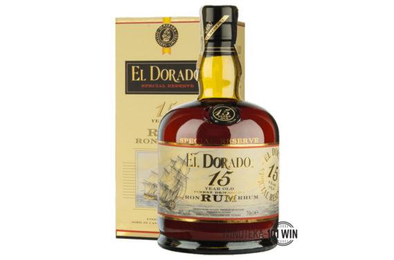 Rum El Dorado Special Reserve 15-letni 43% 0.7l - Rum Szczecin