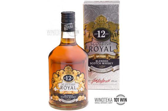 Scottish Royal 12-letnia 40% 0.7l - Sklep Whisky Szczecin