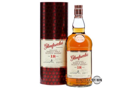 Glenfarclas 18-letni 43% 1l - Sklep Whisky i Wina Szczecin