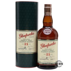 Glenfarclas 21-letni 43% 0,7l - Sklep Whisky Szczecin