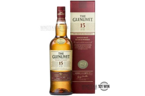 Glenlivet 15 letni 40% 0,7l - Sklep Whisky Szczecin