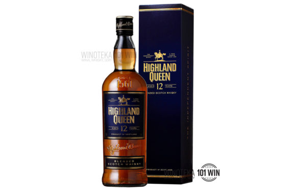 Highland Queen 12-letnia 40% 0,75l - Sklep Whisky Szczecin