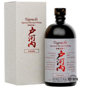 Togouchi Kiwami 40% 0,7l - Sklep Whisky Japońska Szczecin