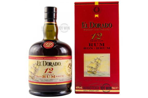 Rum El Dorado 12YO 40% 0,7l - Sklep z rumem Szczecin