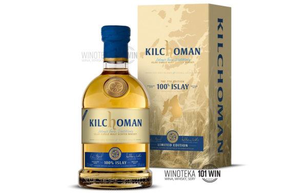 Kilchoman 100% ISLAY 7TH Edition 46% 0,7l