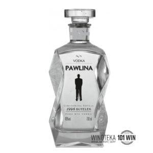 Pawlina Vodka Karafka Limited 1996 0,7l - Polskie Wódki Premium