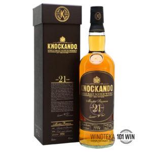 Whisky Knockando 21-letnia 43% 0,7l - Whisky Sklep
