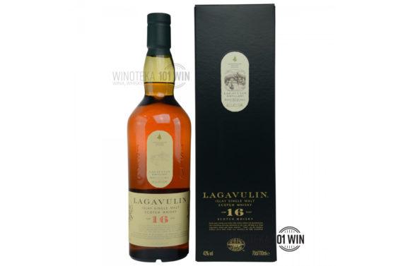 Lagavulin 16-letni 43% 0,7l - Sklep Whisky Szczecin