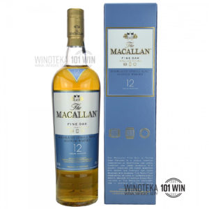 Macallan 12-letni Fine Oak (Triple Cask Matured) /40%/0,7l - Sklep Whisky