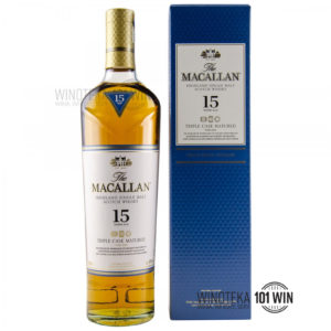 Macallan 15-letni Fine Oak (Triple Cask Matured) 43% 0,7l - Sklep Whisky