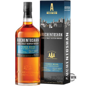 Auchentoshan Three Wood Lowland Single Malt - Sklep Whisky Szczecin