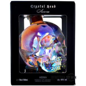 Crystal Head Aurora - czaszka 0,7l