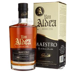 Rum Aldea Maestro 40% 0,7l - Sklep Rum Szczecin