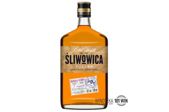 Śliwowica Polska 55% 0,5l - Sklep Alkohole Szczecin